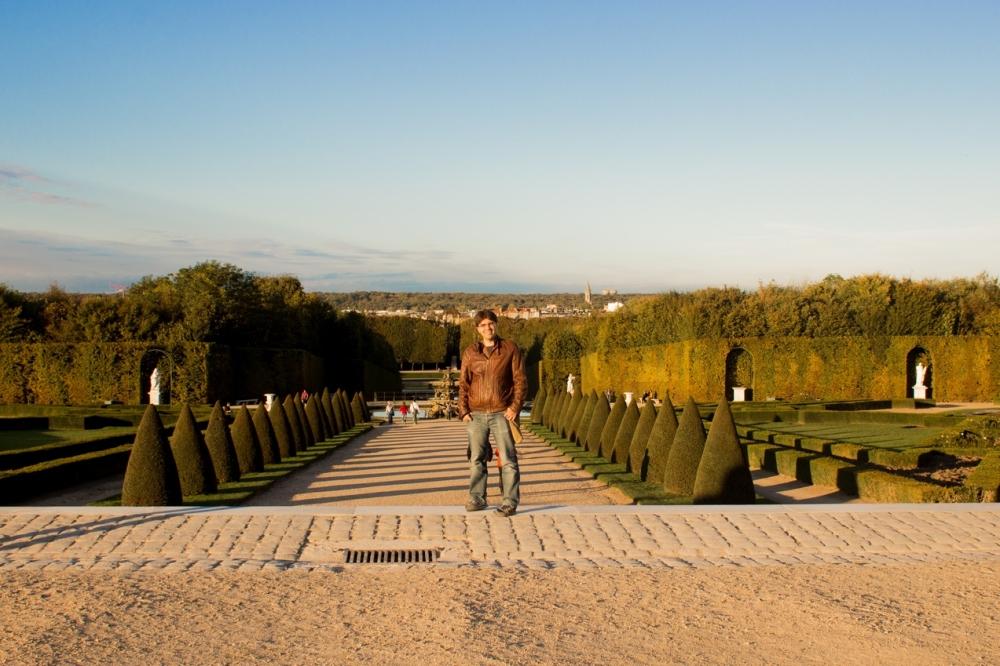 Versailles Sarayı Bahçe Girişi