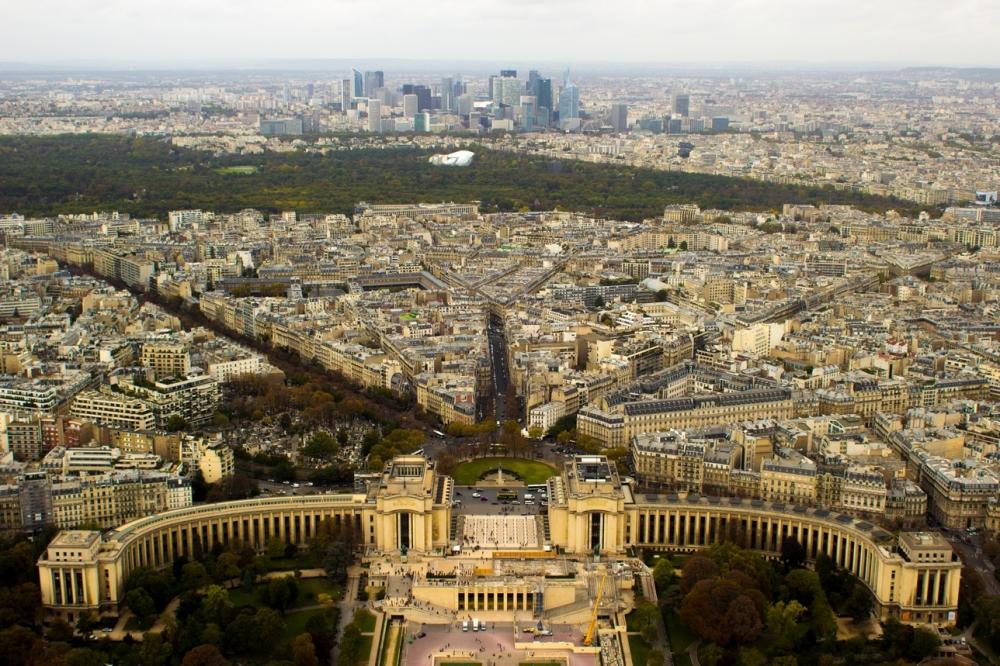 Eiffel Kulesi'nden Paris Manzarası